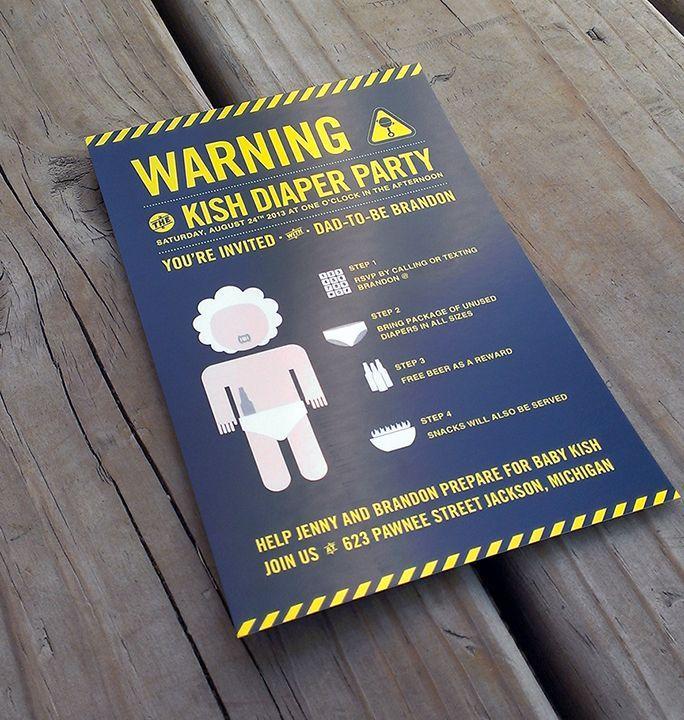 Diaper Party Invitation Maker