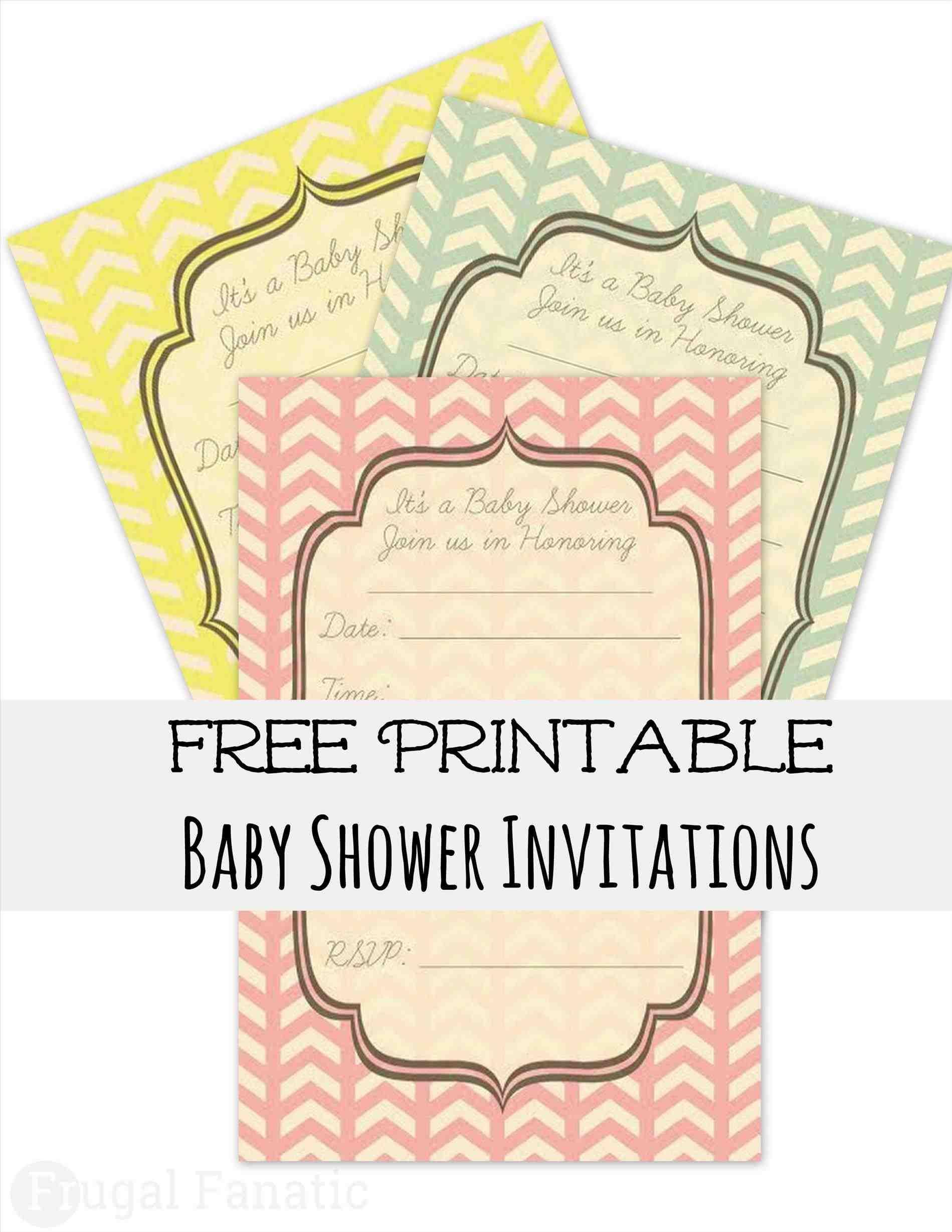 Diaper Party Invitation Template Free
