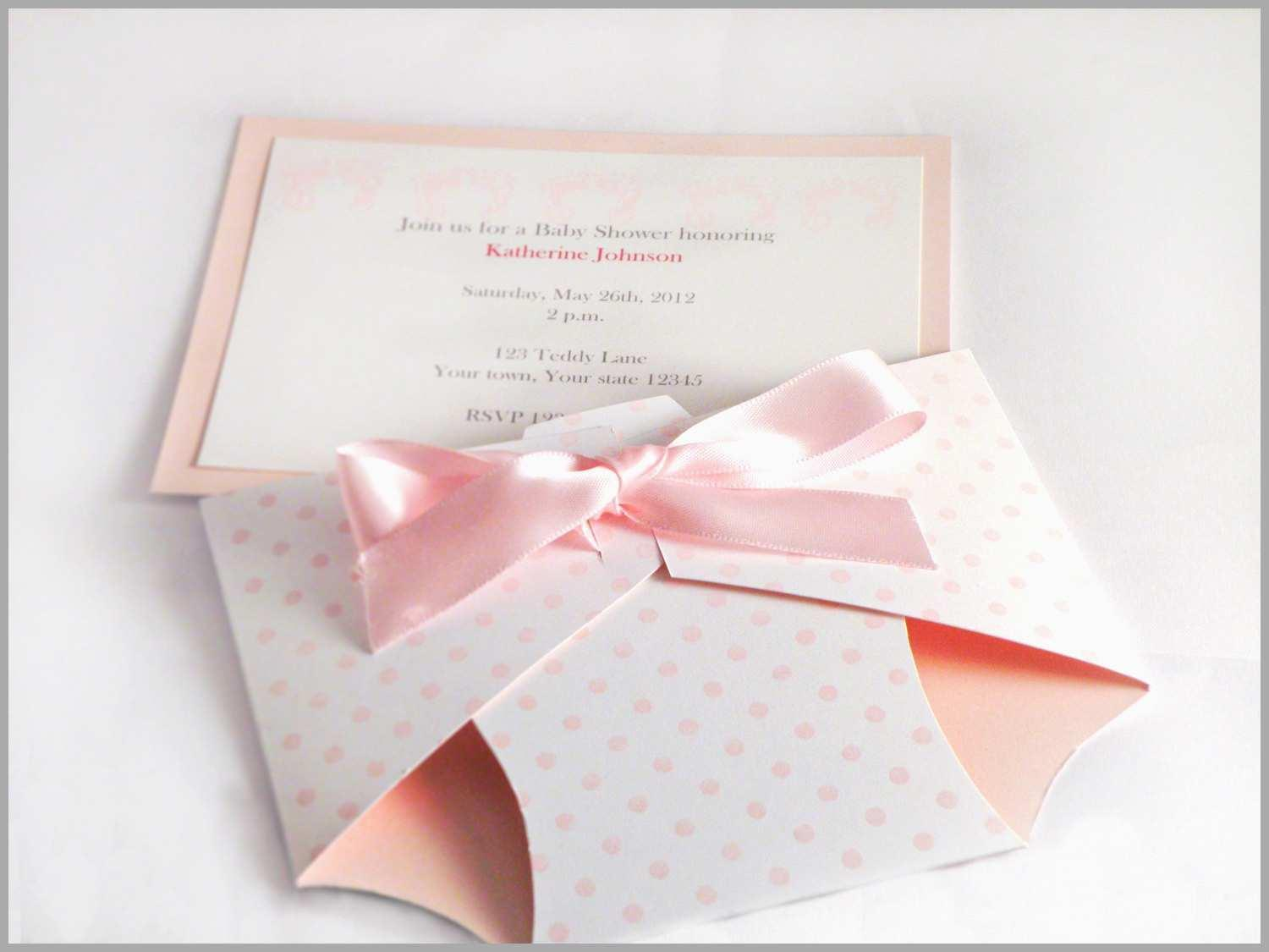Diaper Shaped Baby Shower Invitations Template
