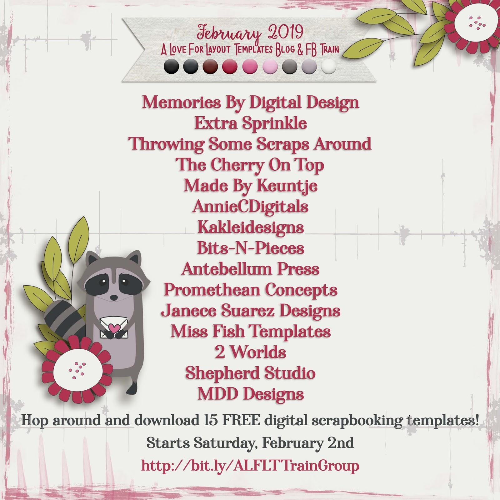 Digital Scrapbooking Freebies Templates
