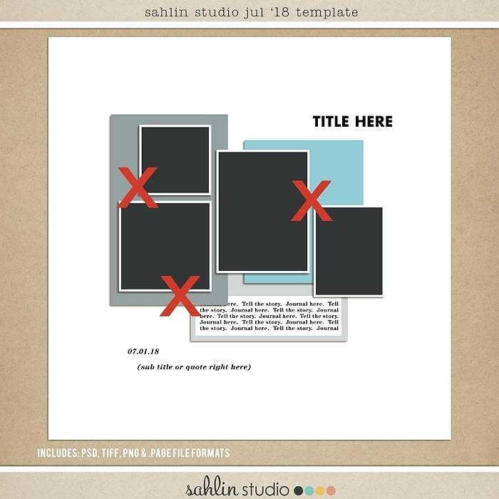 Digital Scrapbooking Templates Free