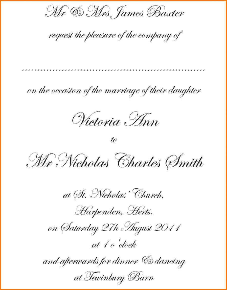 Dinner Invitation Card Template Free Download