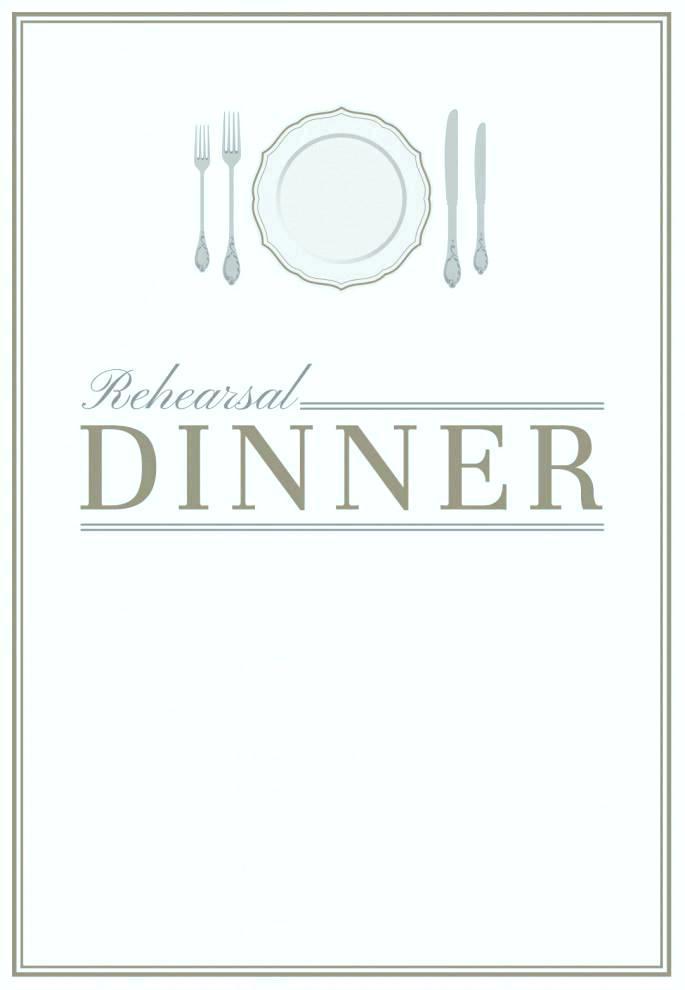 Dinner Invitation Template Word Document