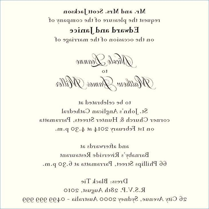 Direction Templates For Wedding Invites
