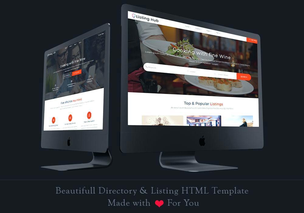 Directory Listing Template Free Download