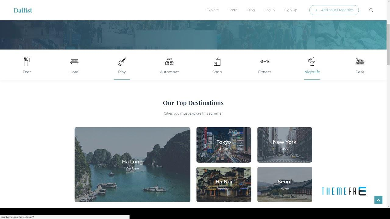 Directory Listing Template Html Free