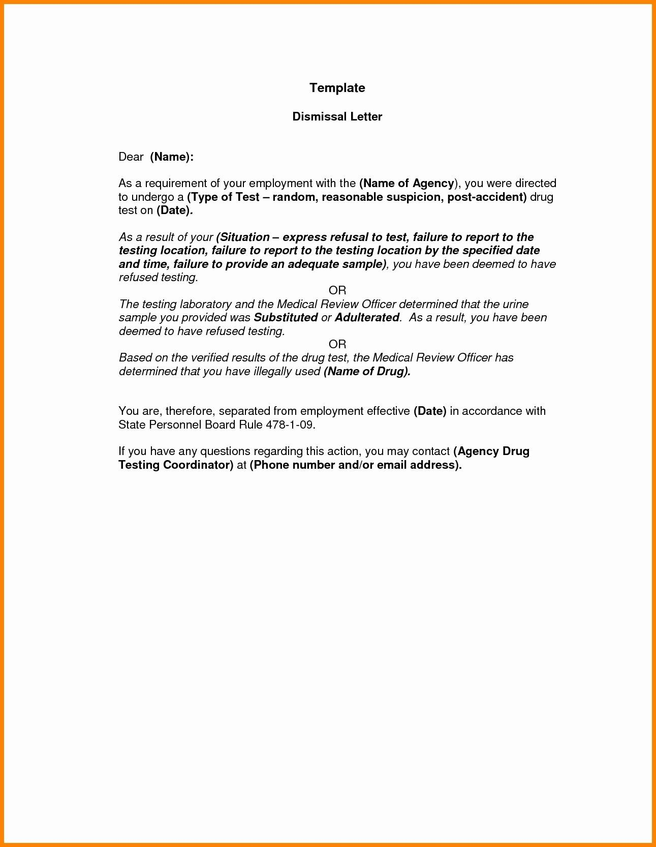 Disciplinary Hearing Letter Template