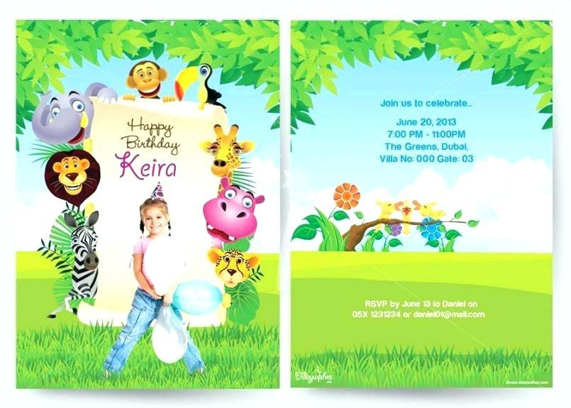 Disney Invitation Card Templates