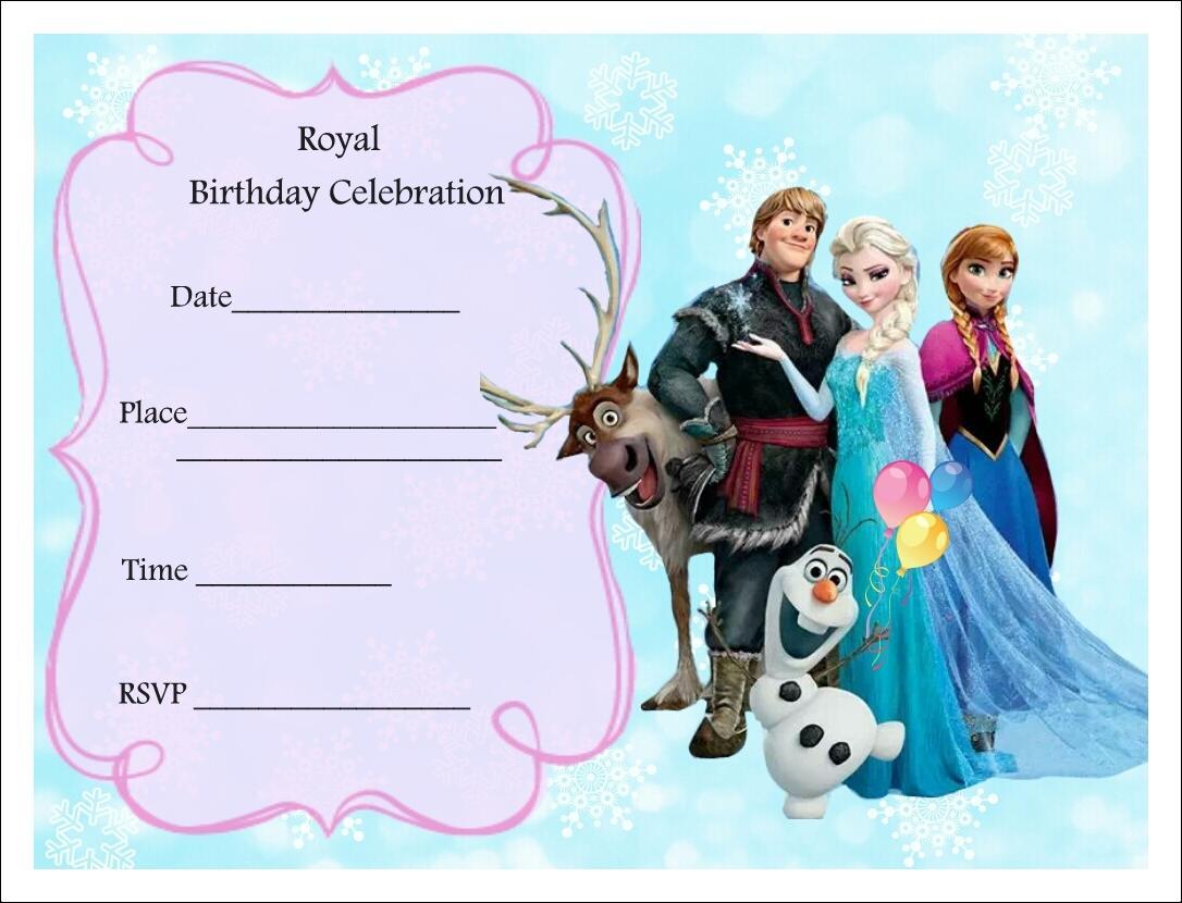 Disney Invitation Templates Free Download