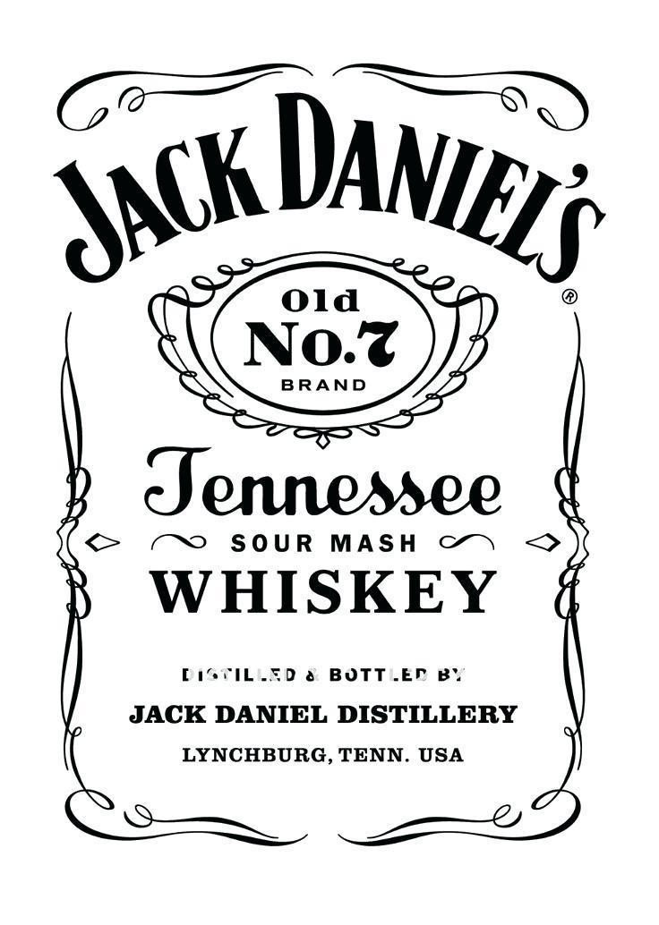 Diy Jack Daniels Label Template