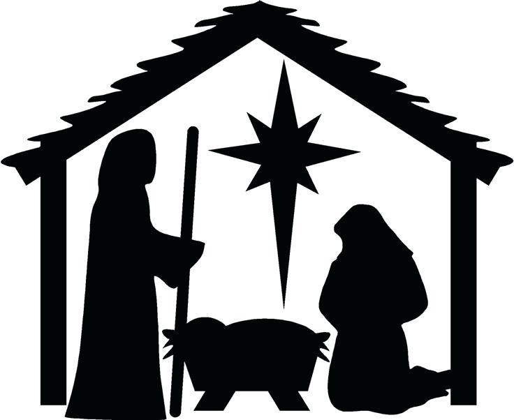 Diy Silhouette Nativity Templates