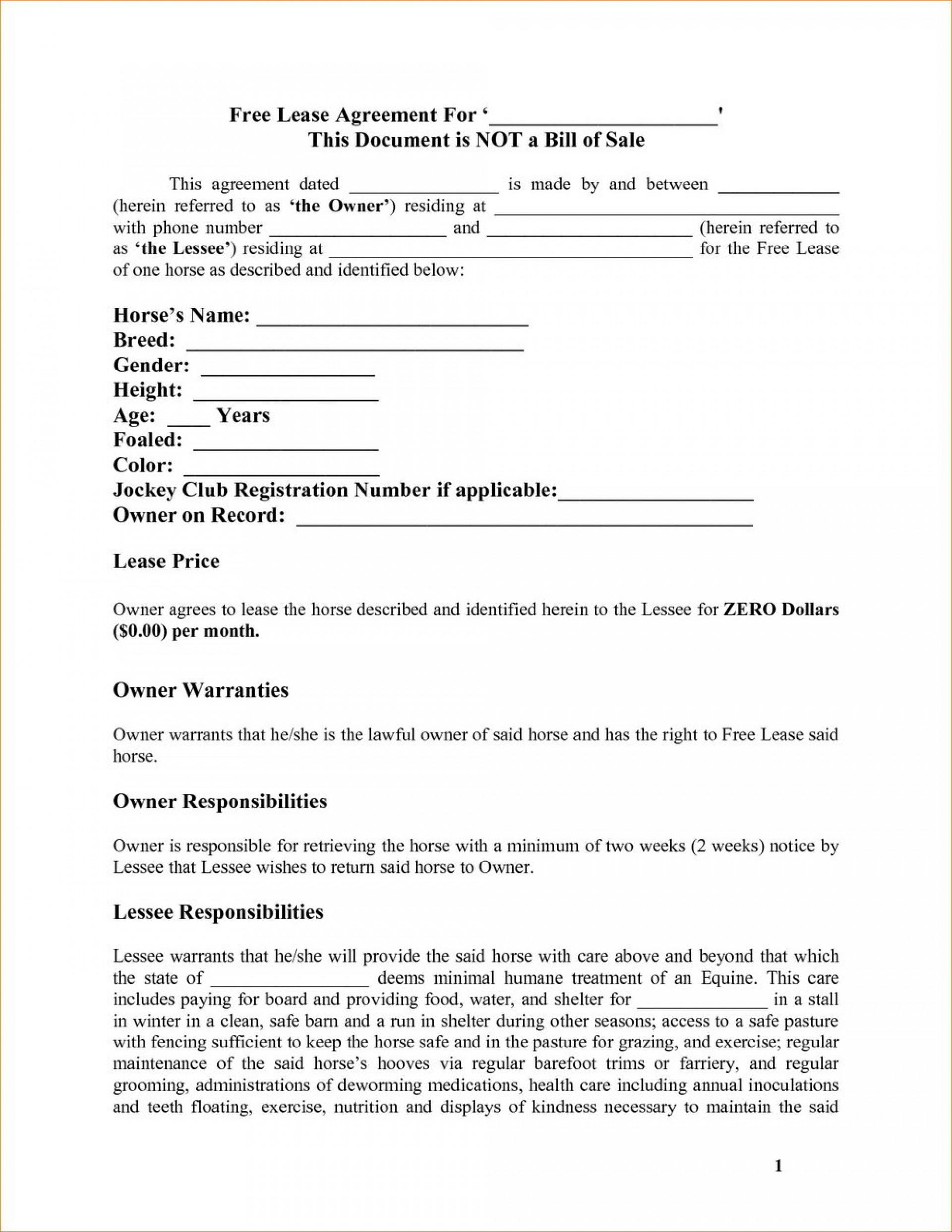 Dj Equipment Rental Contract Template