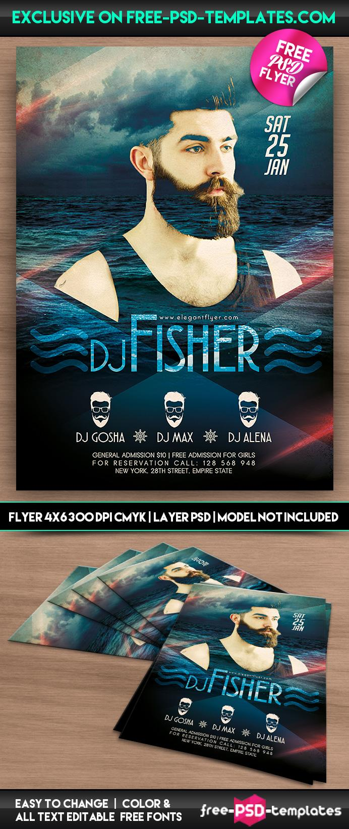 Dj Flyer Templates Free