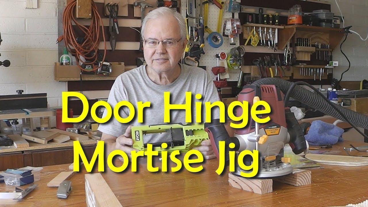 Door Hinge Mortise Jig