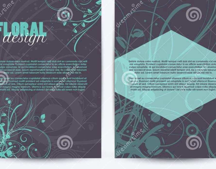 Double Sided Brochure Template Publisher