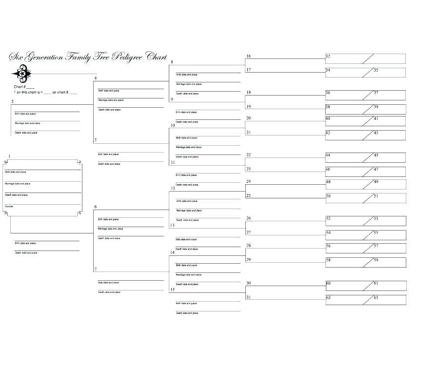 Download Family Tree Template Excel