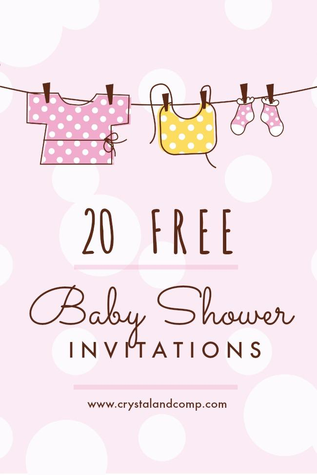 Download Free Baby Shower Invitation Templates