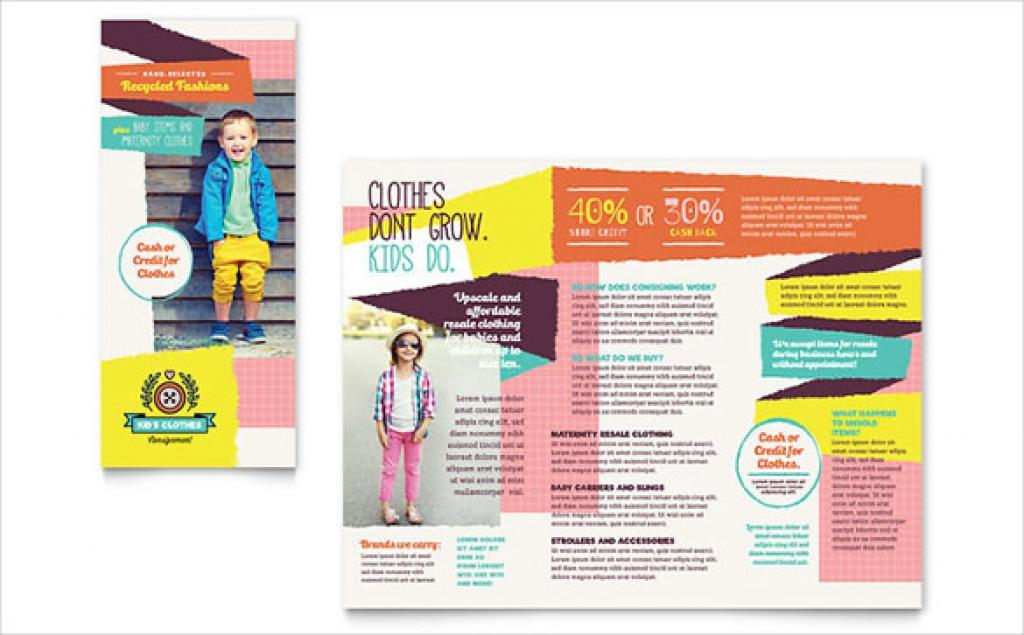 Download Free Tri Fold Brochure Template Word