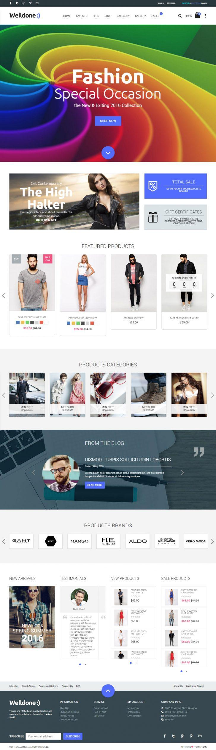 Download Html5 Parallax Website Templates Free