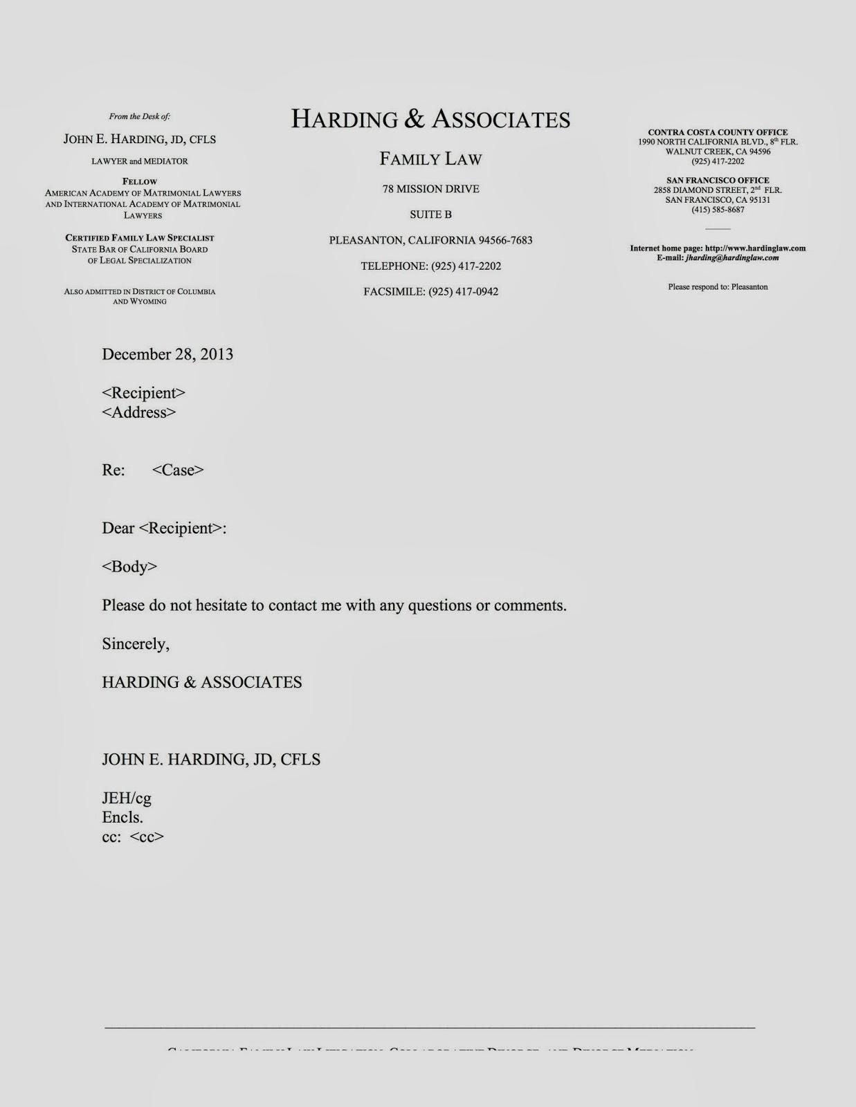 Download Legal Letterhead Templates