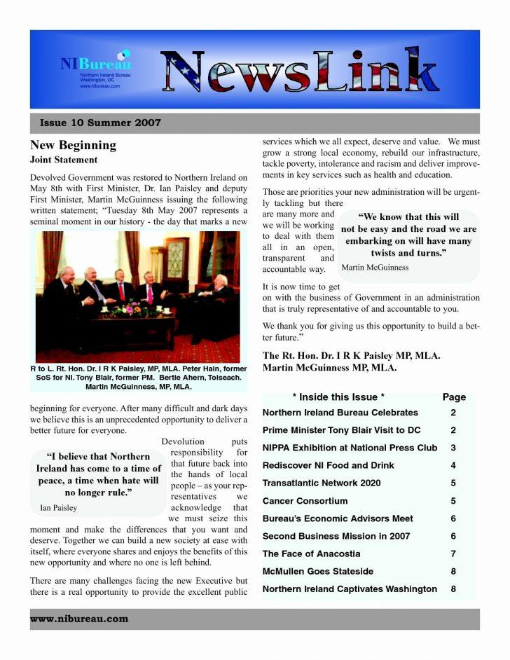 Download Ms Word Newsletter Templates