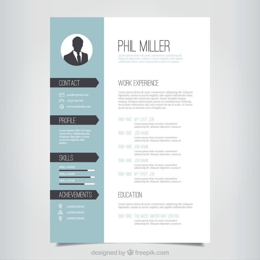 Download Templates For Curriculum Vitae