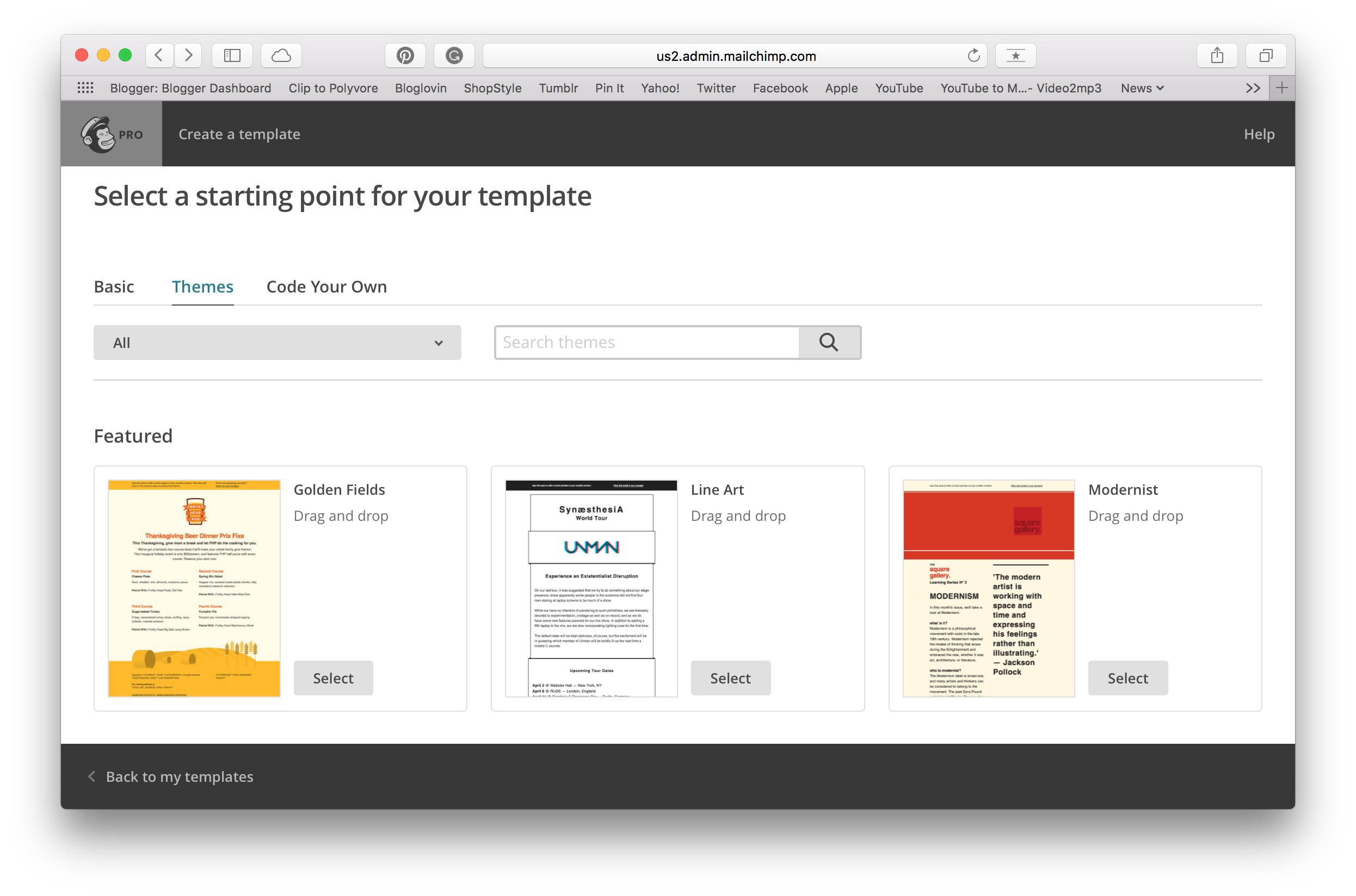 Download Templates For Mailchimp