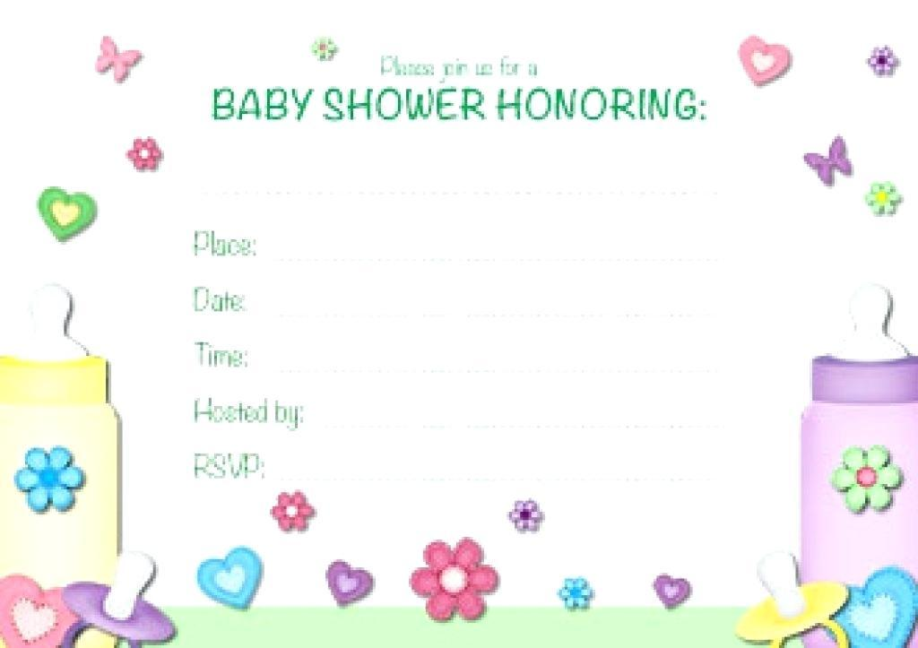 Downloadable Free Editable Baby Shower Invitation Templates