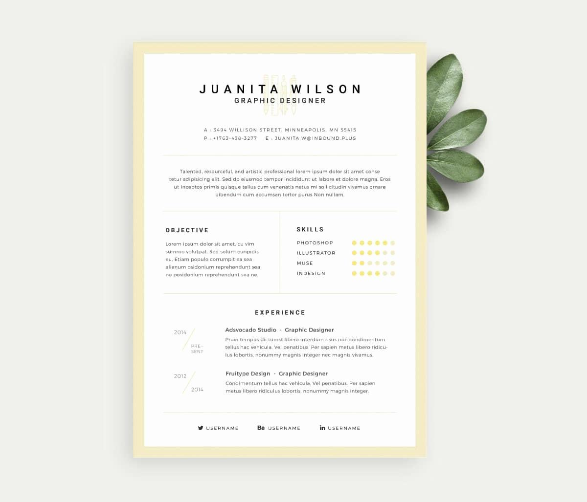 Downloadable Free Resume Templates For Pages