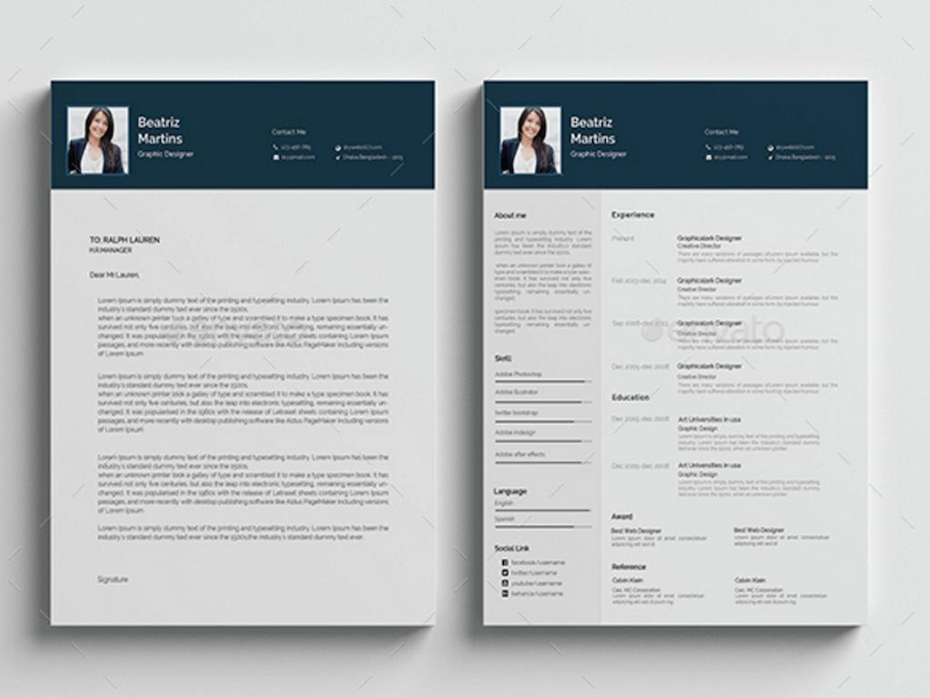Downloadable Free Resume Templates Psd