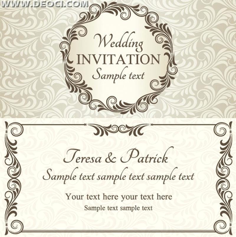 Downloadable Invitation Template