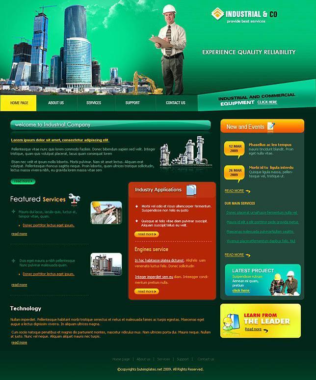 Dreamweaver School Website Templates