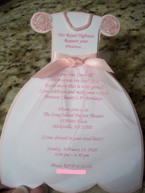 Dress Invitation Template