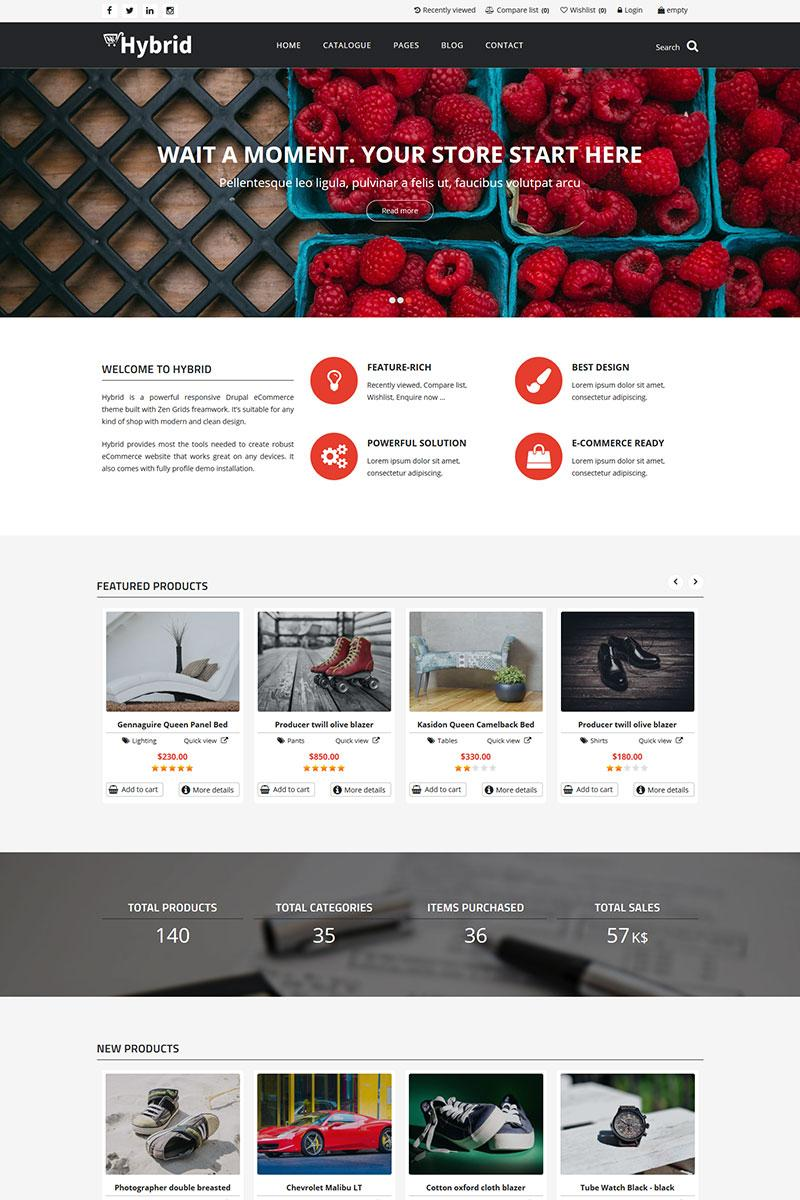 Drupal Commerce Theme