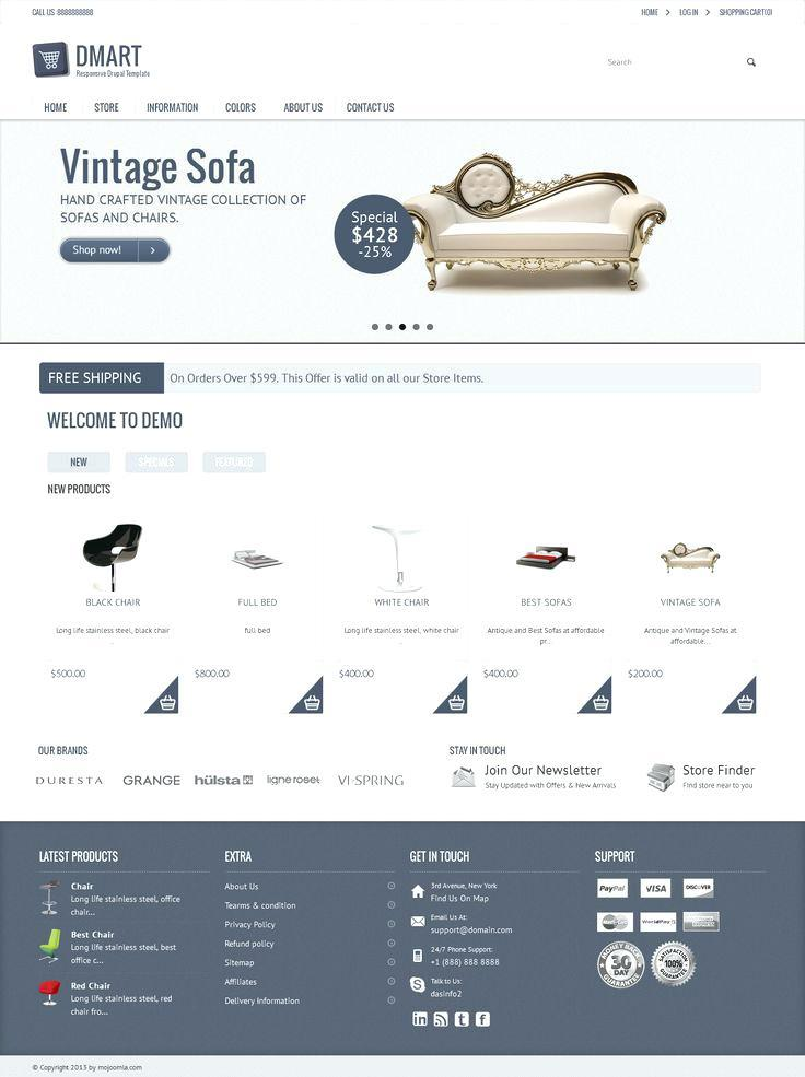 Drupal Ecommerce Themes Free Download