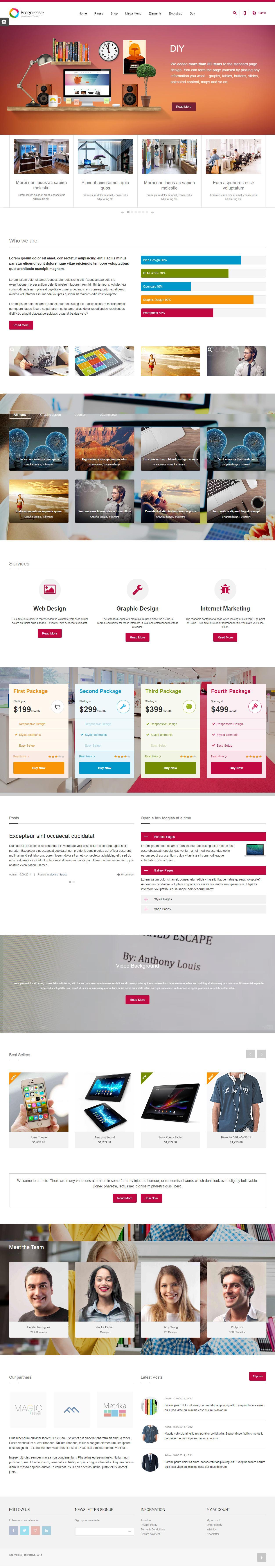 Drupal Responsive Theme Bootstrap