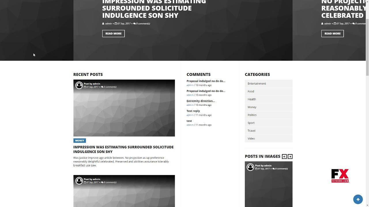 Drupal Theme Responsive Blog