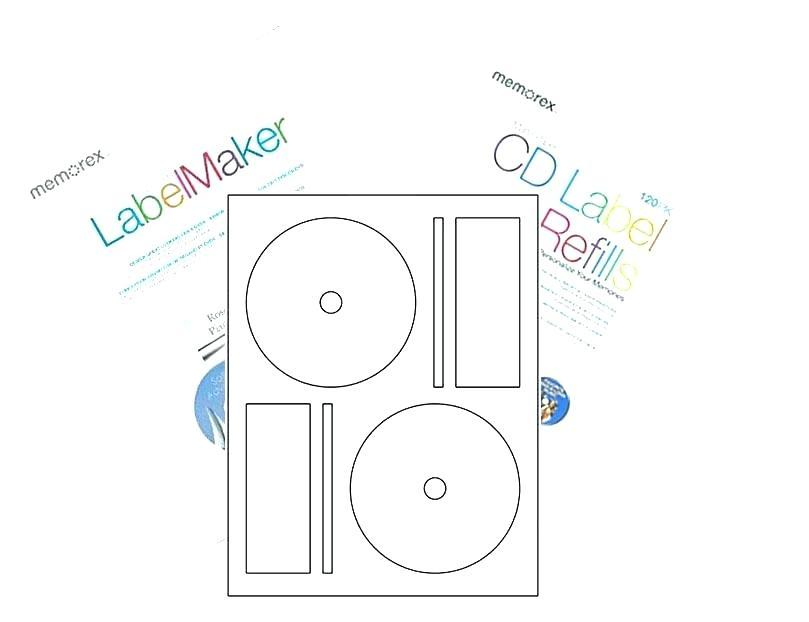 Dvd Disc Label Template Photoshop