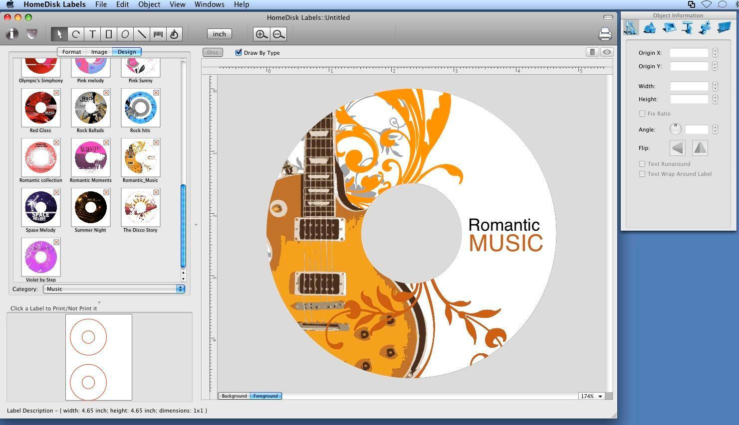 Dvd Label Template For Mac