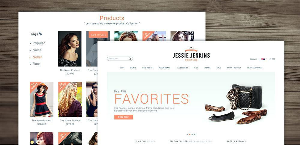 E Commerce Websites Templates Free Download In Html5