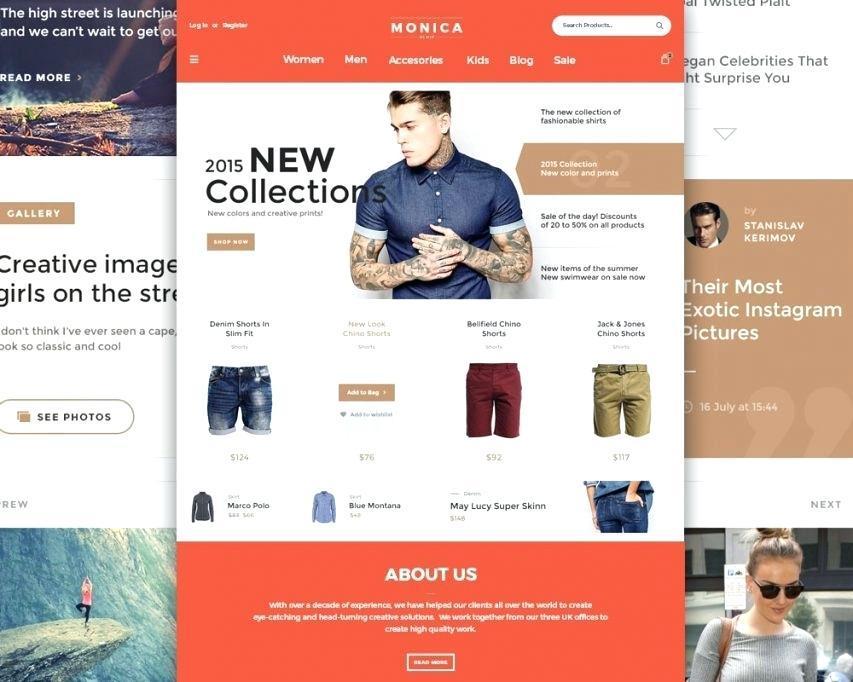 E Commerce Websites Templates Paid