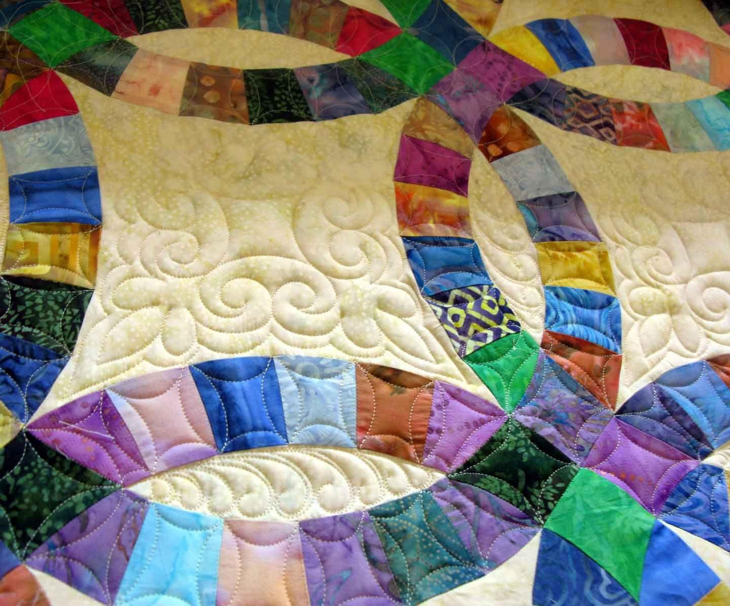Easy Double Wedding Ring Quilt Pattern Free