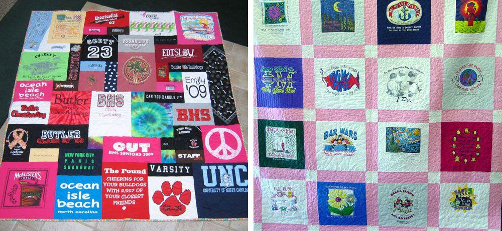 Easy T Shirt Quilt Patterns