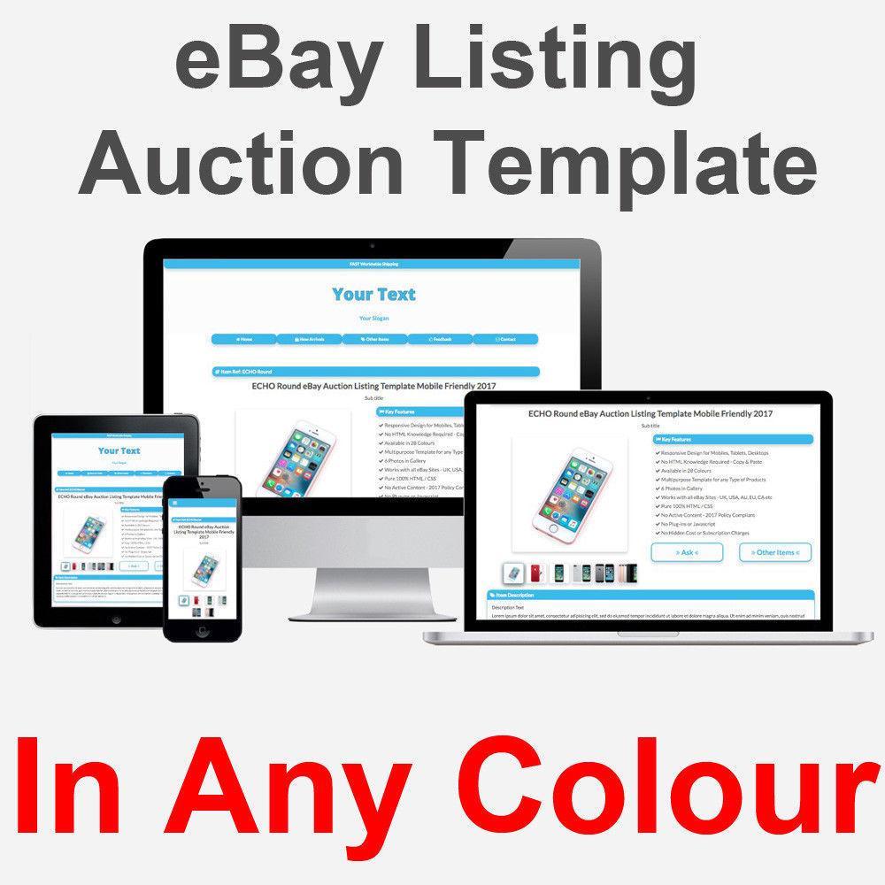 Ebay Listing Template 2018