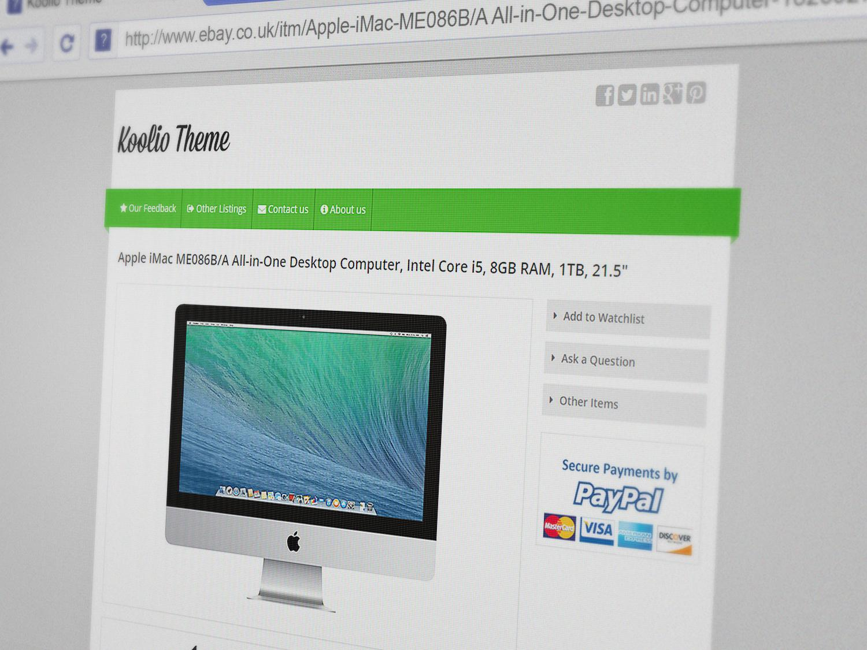 Ebay Listing Template Html