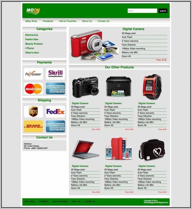 Ebay Listing Templates 2017