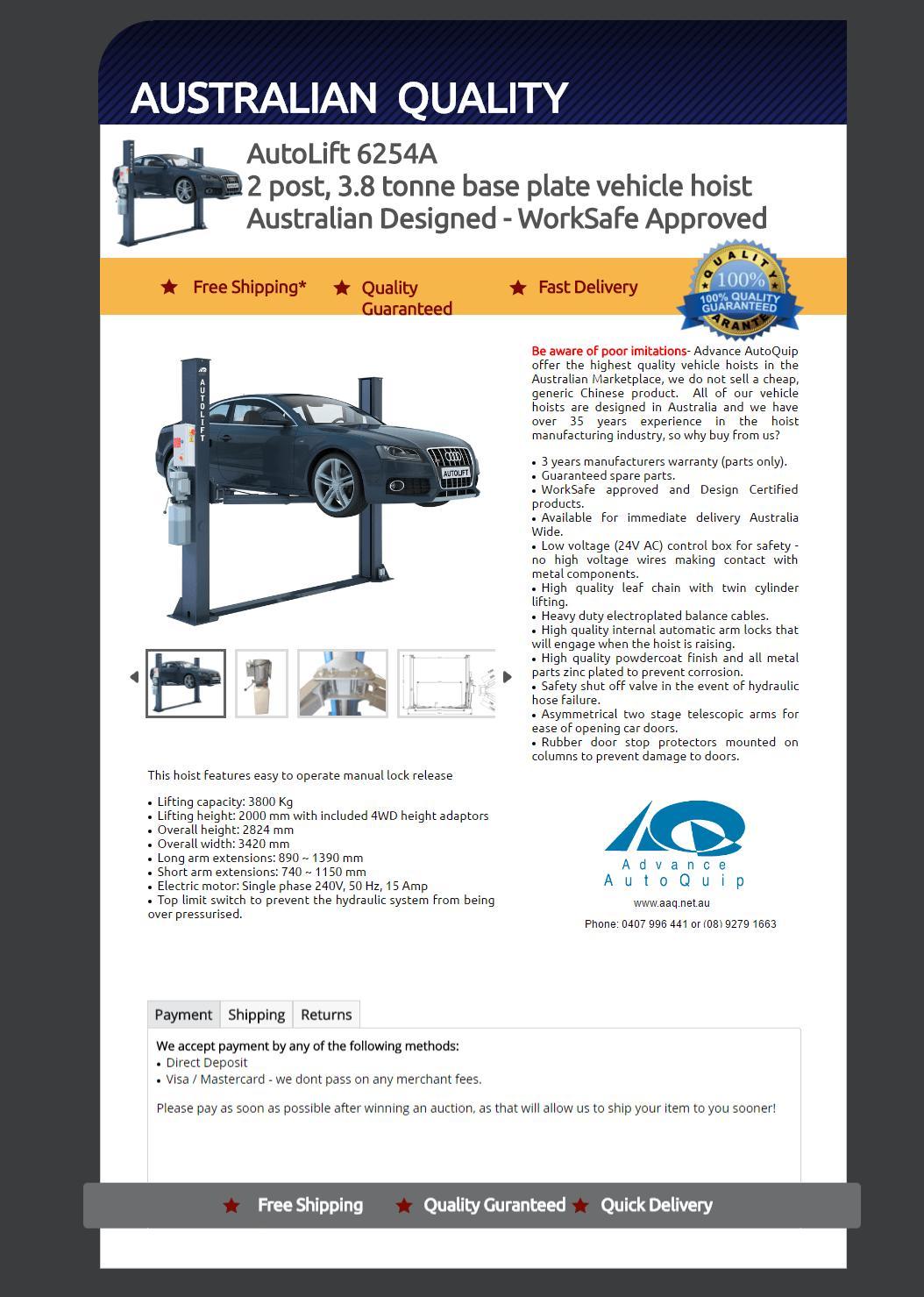 Ebay Motors Template And Builder
