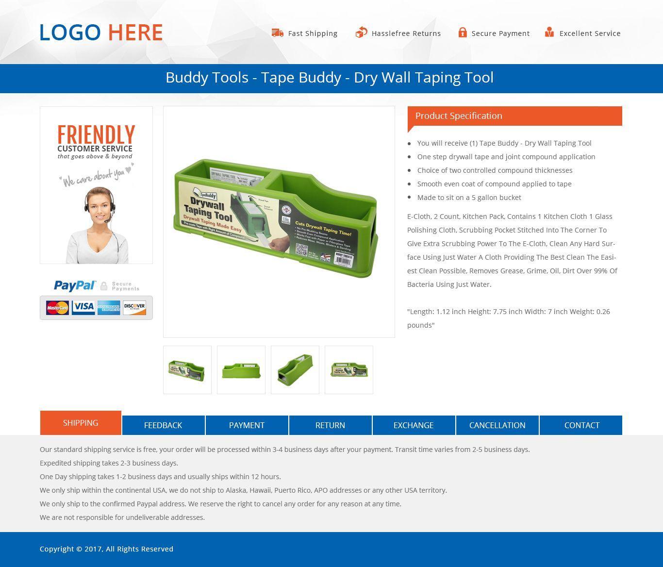 Ebay Responsive Html Template