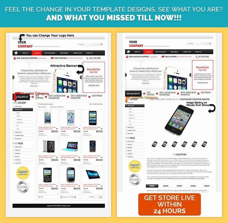 Ebay Sell Html Template