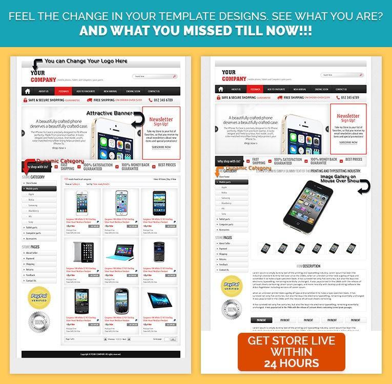 Ebay Selling Templates Html